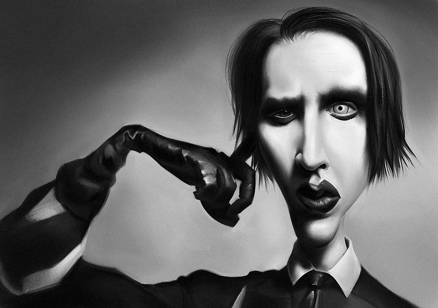 Marilyn-manson by N-Abakumov