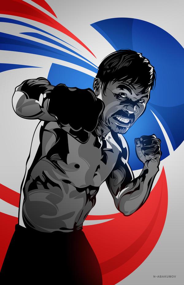 Manny Pacquiao by N-Abakumov