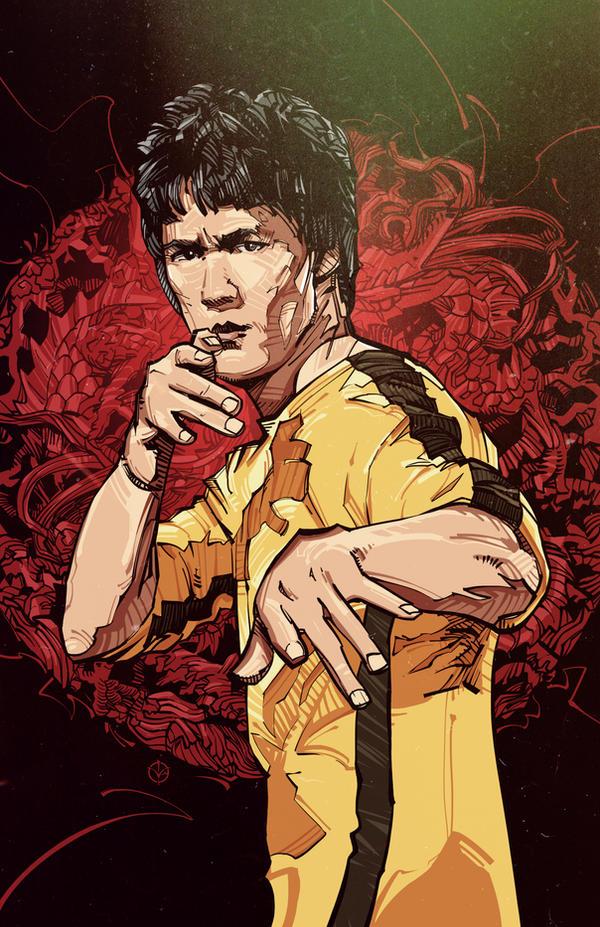 Bruce Lee by N-Abakumov