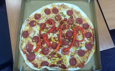 Ripperoni Pizza by TakeruDavis