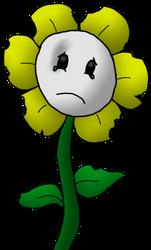 Underfell - Flowey the Flower by TakeruDavis