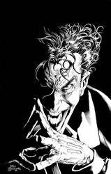 Joker Pin-up Pencil by MikeDeodatoJr