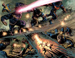 X-Men Legacy: Double Page