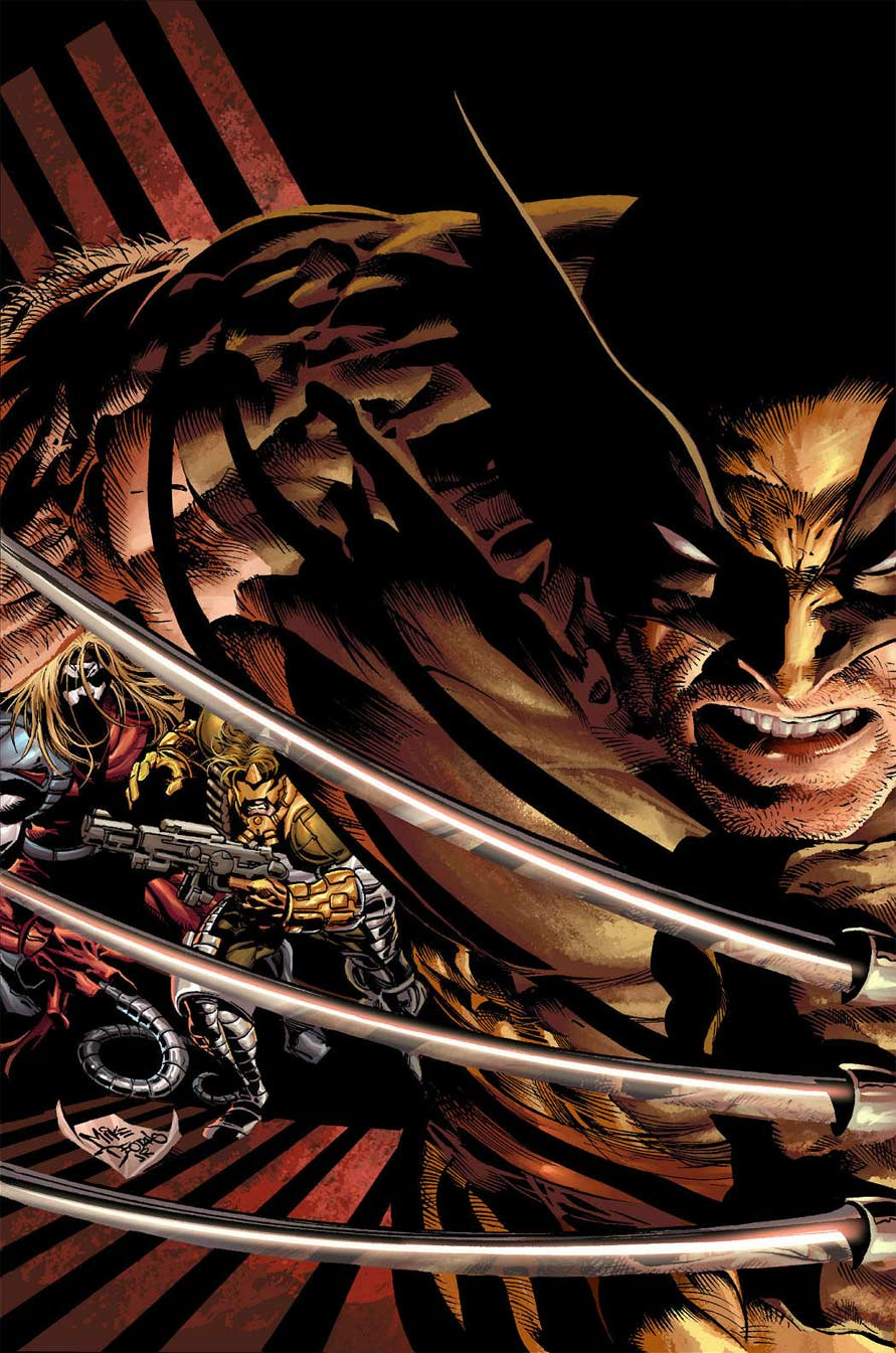 Wolverine Origins 07 by MikeDeodatoJr