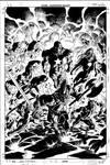 Dark Avengers 2 Cover Pencil