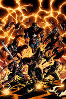 Dark Avengers 2 Cover by MikeDeodatoJr