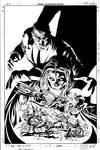 Dark Avengers 07 Cover Pencil