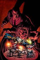 Dark Avengers 07 Cover by MikeDeodatoJr