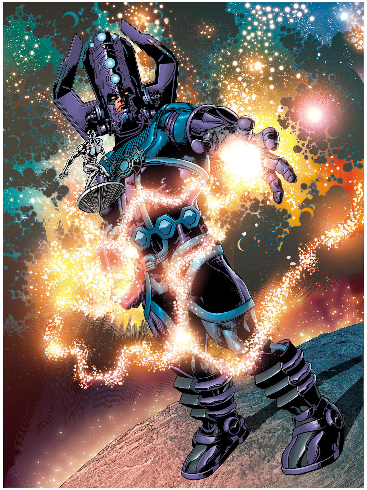 Galactus Unleashed Poster by Bosslogix on DeviantArt