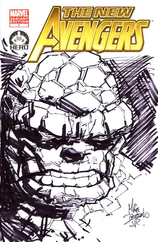 New Avengers 100: Ben Grimm 02 by MikeDeodatoJr