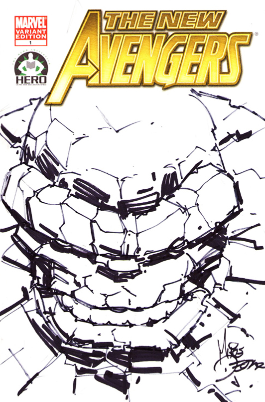 New Avengers 100: Ben Grimm 01 by MikeDeodatoJr