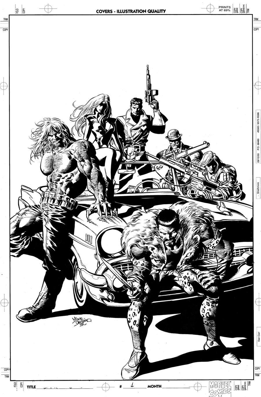 New Avengers 10 Cover Art