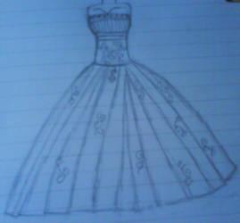 Wedding dress by team-eric-damon