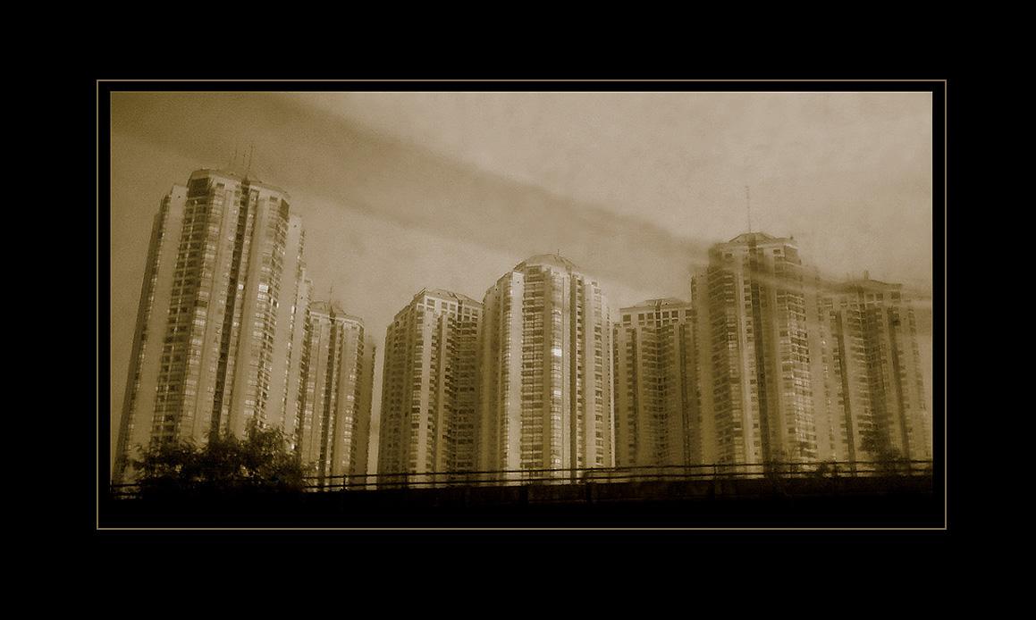 Jakarta city by bangrud