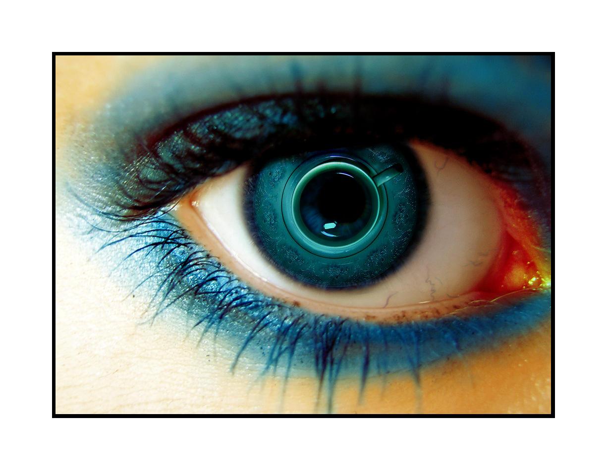 blue cup eye by bangrud
