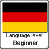 Language Level - German - Beginner by Sauny