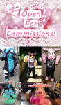 Commissions Page Open by CapricorgiCreations