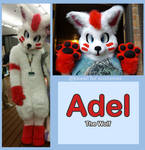 Adel the wolf (commission)