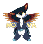 Nova Badge (commission) by CapricorgiCreations