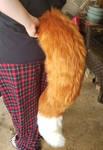Premade Fox tail by CapricorgiCreations