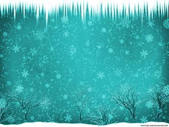 Snowy Scene Desktop by The-Camo