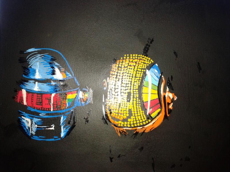 Daft Punk by ViciousZen