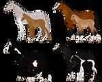 HIEF 4* Foal Lineage Sale - 3/4 OPEN - TB
