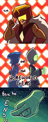 We... are the Homeworld Gems! by serpyra