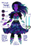 Steven Universe: Gem OC Purple Topaz