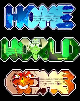 [for sale] Steven Universe- Homeworld Gems