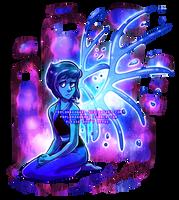 [for sale/speedpaint] Steven Universe: Lapis by serpyra
