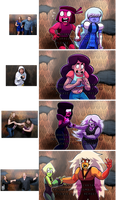 Steven Universe: Haunted House Reaction meme