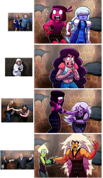 Steven Universe: Haunted House Reaction meme by serpyra