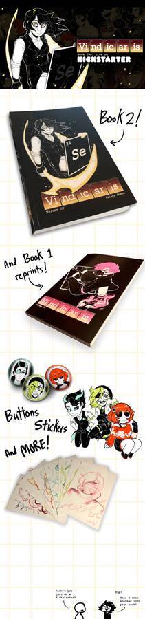 Vindicaris Kickstarter Book Two!