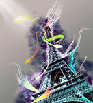 My Love - La Tour Eiffel by SawSomething