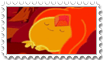 Flame Princess Stamp (Princesa flama) sweet dreams by SHAORAN-UCHIHA