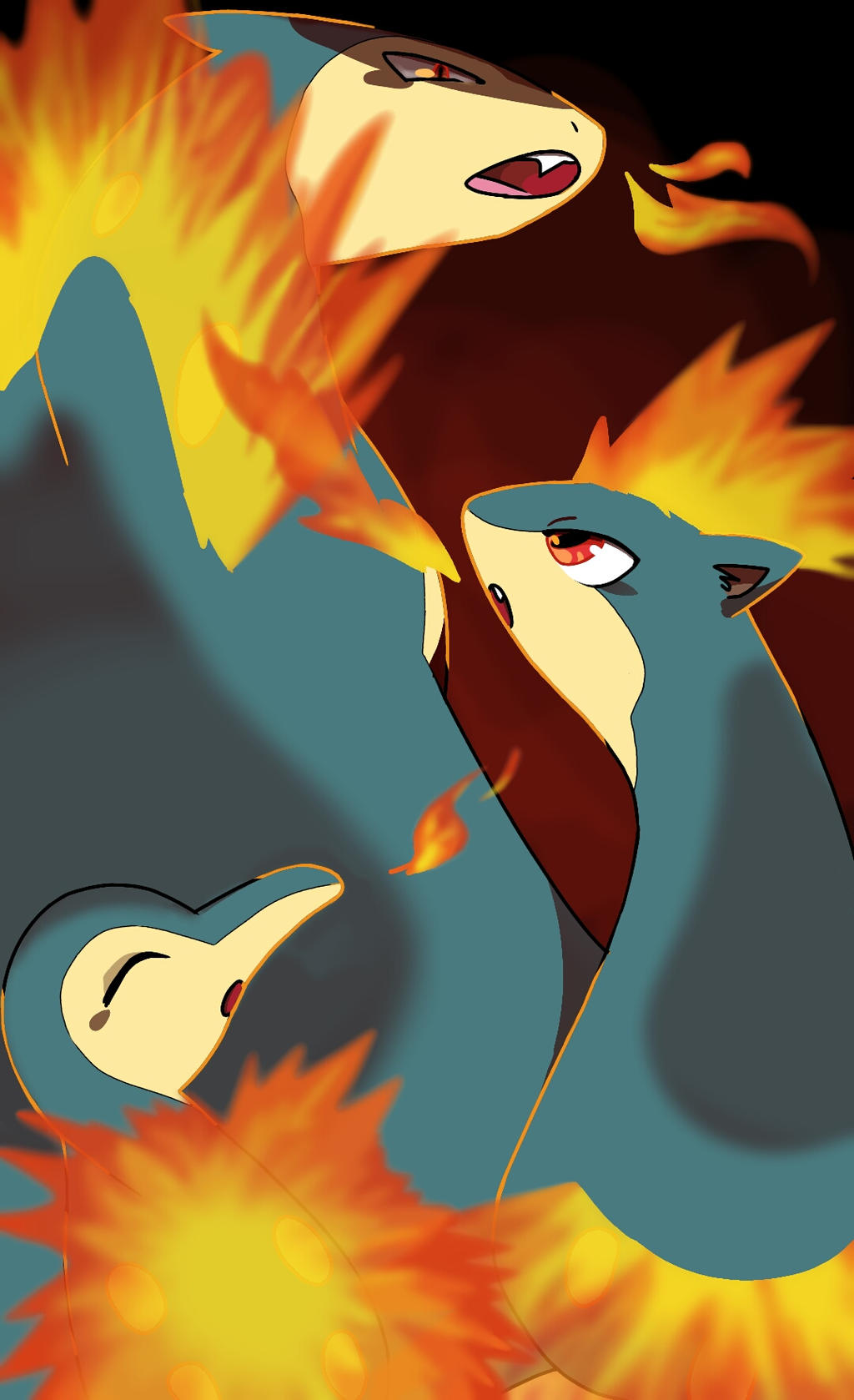 cyndaquil typhlosion quilava - photo #14