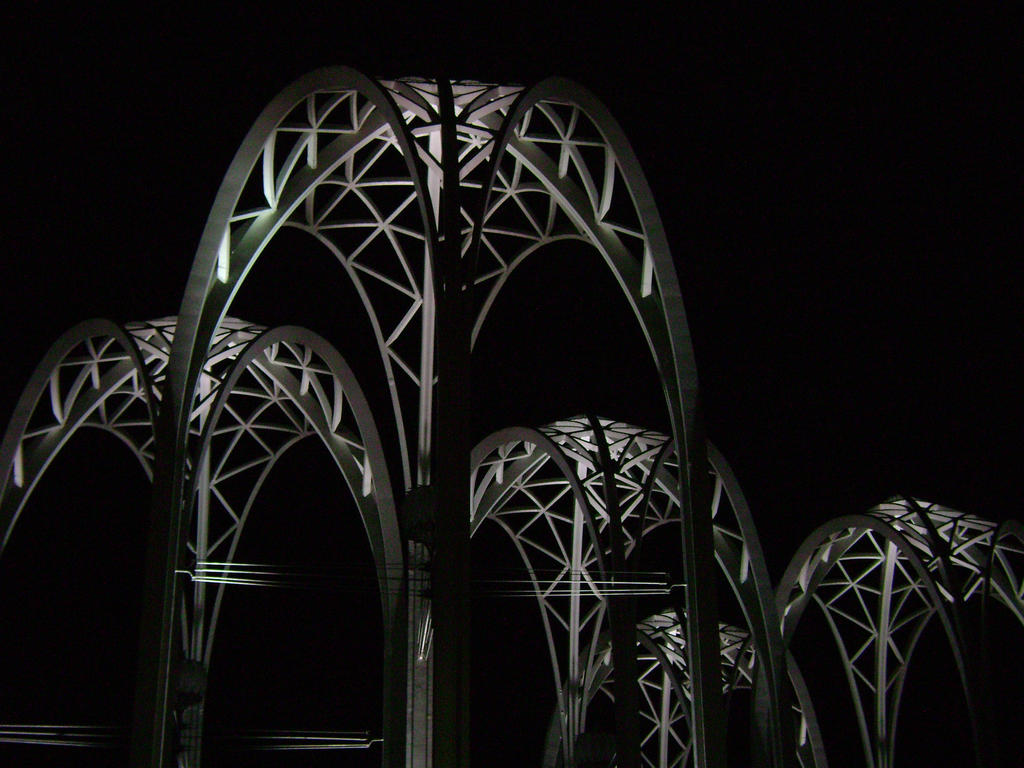Seattle Science Center Arches by laura-worldwide