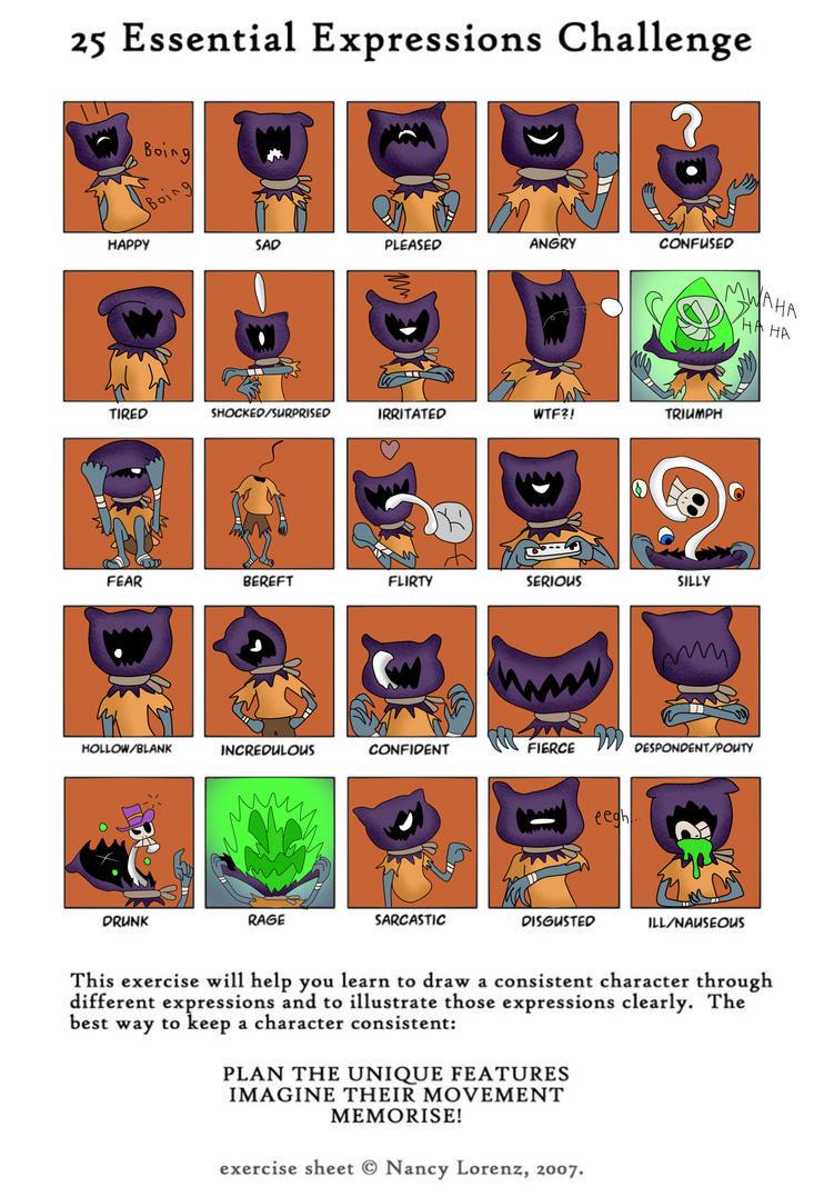 Expression Impression by ViperXVII