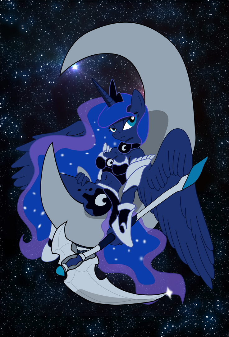The Lunar Guardian by JaxStern256