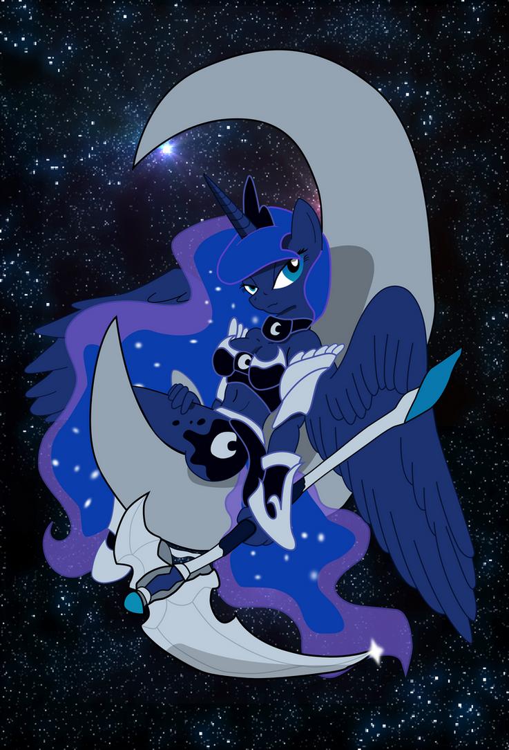 The Lunar Guardian by JaxStern256