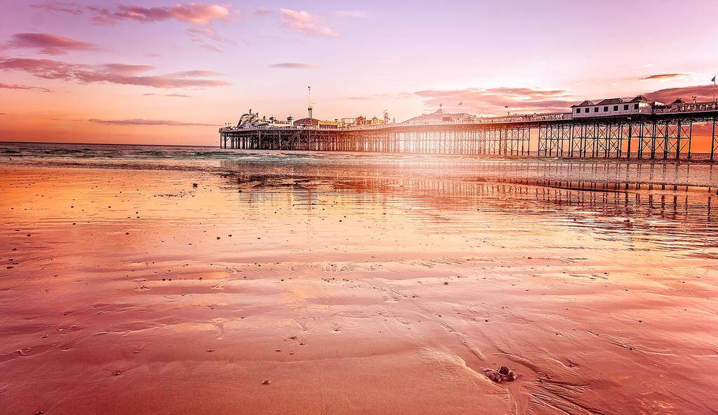Brighton Pier Sunset by tonyrabina