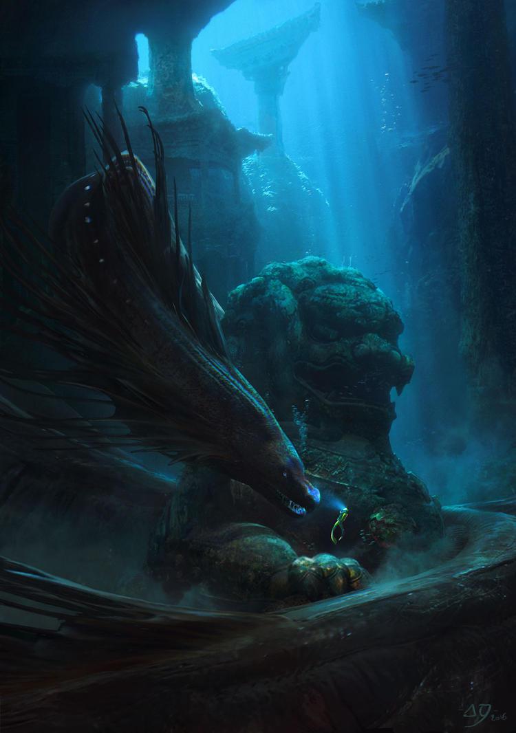 Deep sea guardian by Fainernil