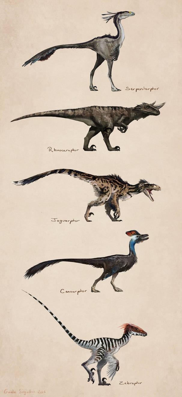 Savanna raptors