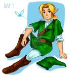AutoChallenge Week1-The Legend of Zelda-DAY 1 Link