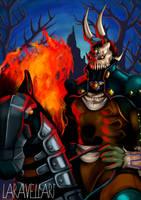 The Legend of Zelda OoT  Phantom Ganon by TheArtOfVero
