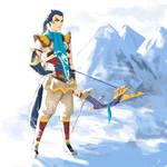 Human Revali- Zelda Breath Of The Wild
