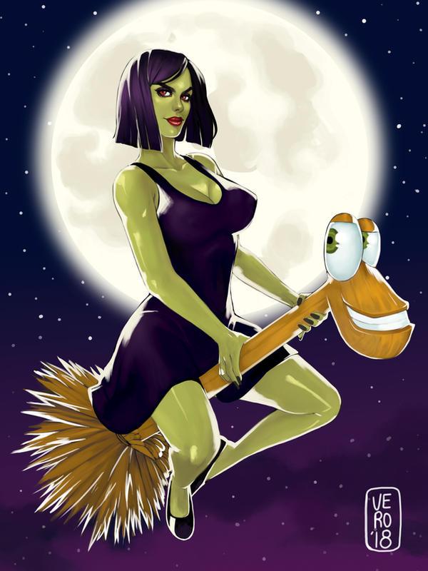 Gruntilda Winkybunion - Banjo Kazooie by TheArtOfVero