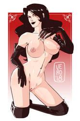 Lust - Fullmetal Alchemist - Nudies #13 by TheArtOfVero