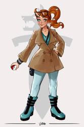 Sonia - Pokemon Sword/Shield by TheArtOfVero